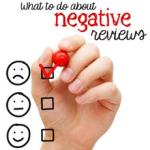 negative social reviews